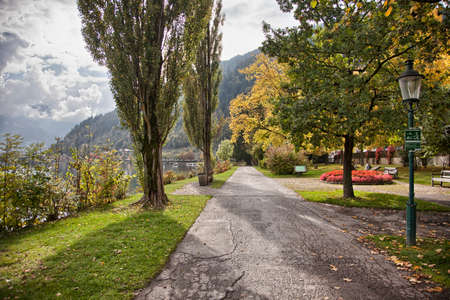 zell am see: Autumn in Zell am See, Austria