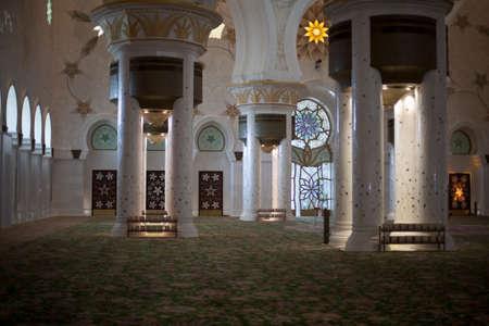 zayed: Zayed mosque, Abu Dhabi, United Arab Emirates
