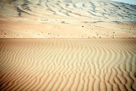 arabic desert: Wind created patterns in the sand dunes of Liwa oasis, United Arab Emirates