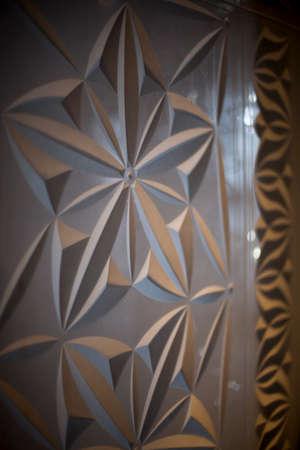 stonework: Beautiful stonework, inside a mosque Stock Photo