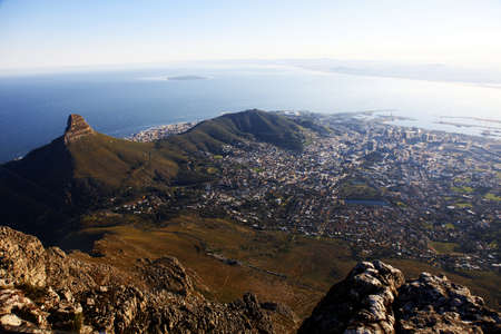 capetown: Capetown views from the Tabletop Mountain, South Africa