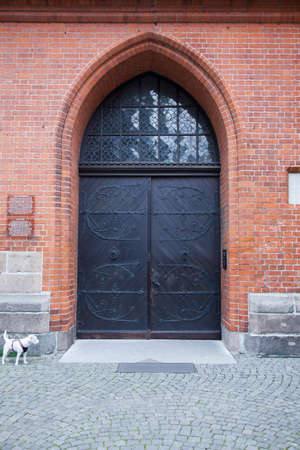 Church Entry Door In Lubeck Germany Stock Photo Picture And
