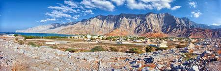 musandam: Amazing mountain scenery in Bukha, Musandam peninsula, Oman