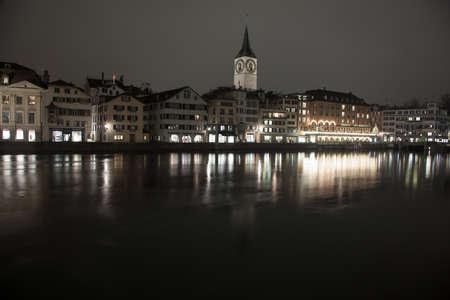 zurich: Amazing night scenes from Zurich, Switzerland
