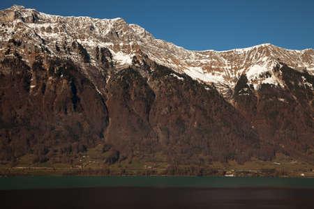 interlaken: Amazing mountain scenery near Interlaken, Switzerland Stock Photo