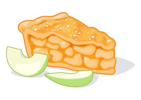Delicioso pastel de manzana Foto de archivo - 99012137