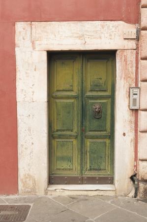 Wooden italian door