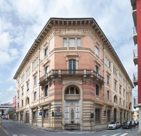 View of Carrara, the Risorgimento building called Palazzo Della Moretta