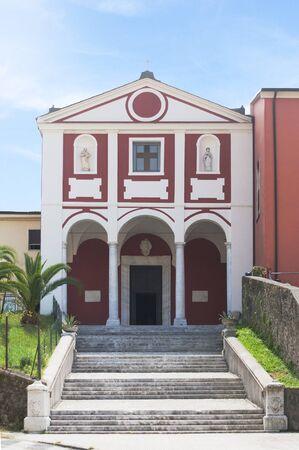 Church of San Francesco in Carrara, Tuscany. Italy.