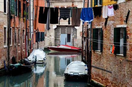 ghetto: Venice, canal in the jewish ghetto Stock Photo