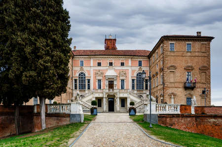 Castle of Govone in Piedmont, Italy