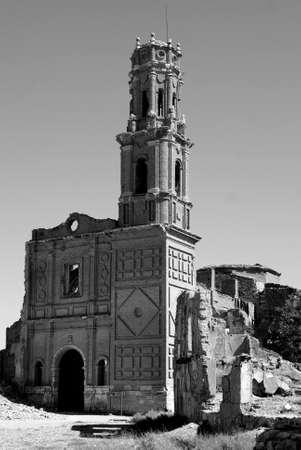 Convent of San Agustin in Belchite