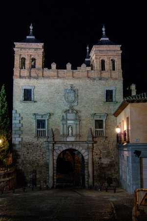 Lighting of the Alfonso VI Gate, Toledo