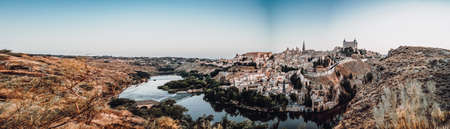 Panoramic view of the city of Toledo