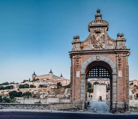 panoramic view of toledo and the alcazar