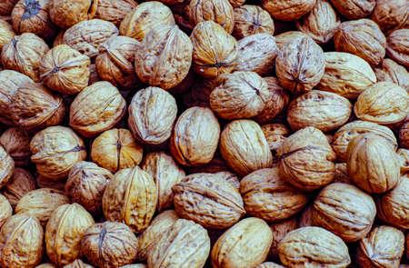 Nuts at the Blanes fruit and vegetable market Reklamní fotografie