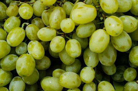Grapes at the Blanes fruit and vegetable market Reklamní fotografie