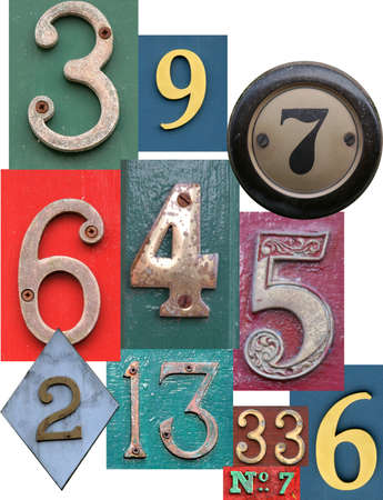 Different types of arabian numbers