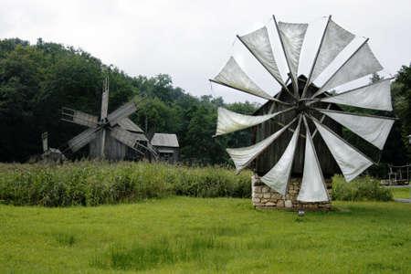 Village museum in Sibiu city, Romania, a hidden beautiful place photo