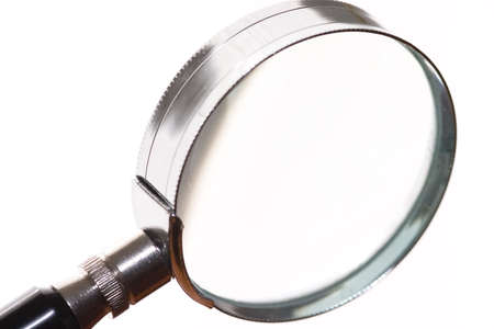 close up of a reading lens