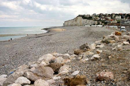 North Sea coast in Normandy