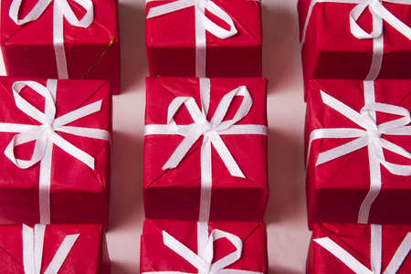 red Christmas presents Stock Photo - 284782
