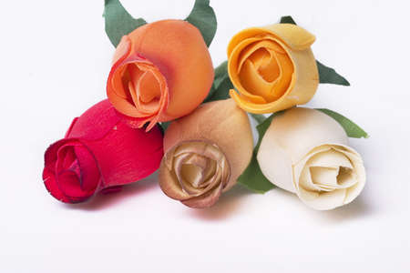 isolated bunch of roses