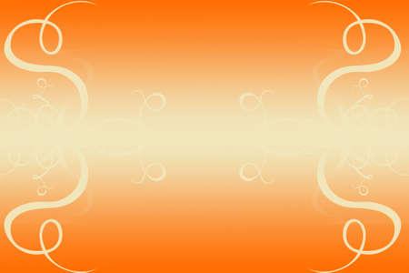 Orange background for businesscard Stock Photo