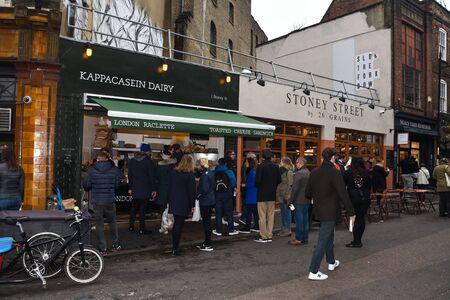 London, United Kingdom, 24th of January 2020: Borough market
