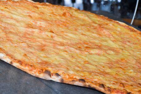 Large xxl italian margherita pizza