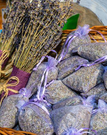 Lavender dried flowers decorations fr sale during festival
