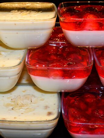 Zerde is a Turkish dessert, a sort of sweet pudding from rice that is colored yellow with saffron. It is a festive dish popular at weddings, birth celebrations, Persian language zard which means yello 写真素材
