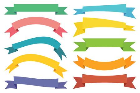 kleurrijke stickers Web, banners en Labels collectie. Stock Illustratie