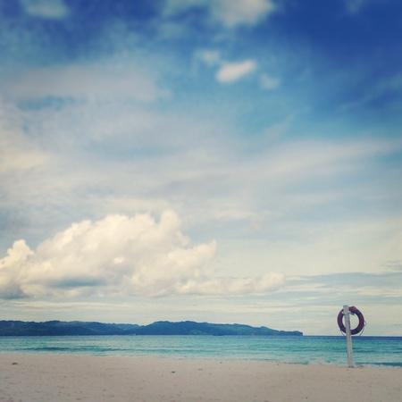 boracay: White Beach, Boracay Island Philippines Stock Photo