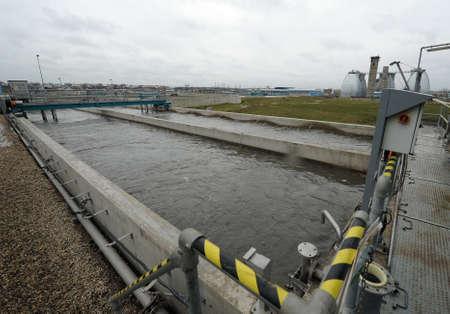 turbidity: Wastewater treatment plant
