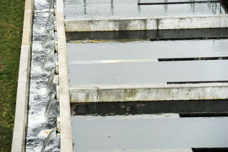 sedimentation: Wastewater treatment plant