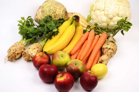 multicolored: Multi-colored vegetables and fruits