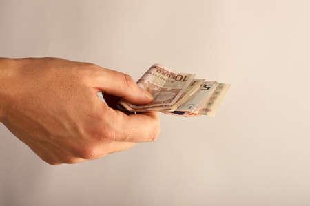 paying: Paying money