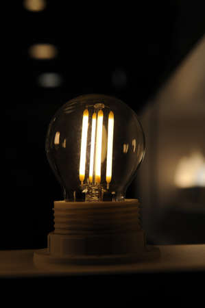 incandescent: Incandescent light bulbs Stock Photo
