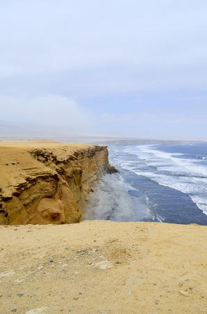 Desert and seaside Stock Photo