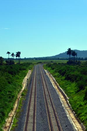Rail in cuba