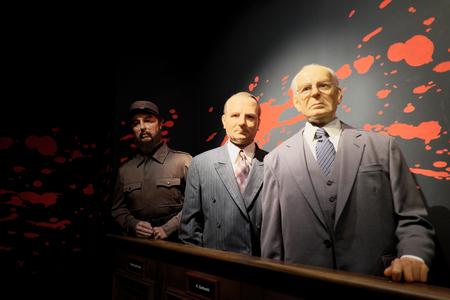 museum visit: Prague, Czech Republic - January 31: Visit to the wax museum on January 31, 2016 in Prague, Czech Republic.