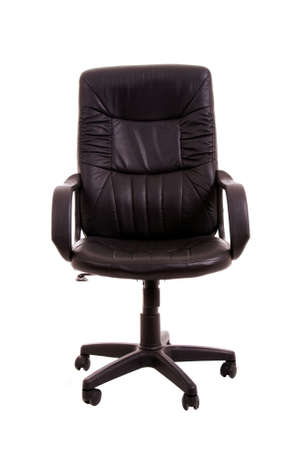 comfortable office chair isolated on white background 免版税图像