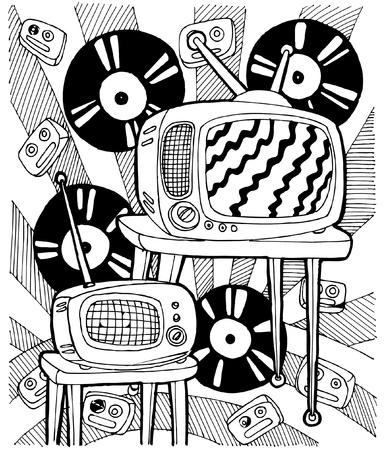 kreativ: TV background