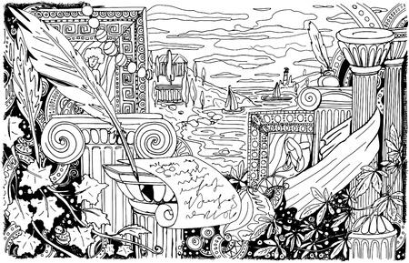 arts background Vector