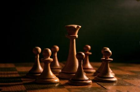 Chessboard photo