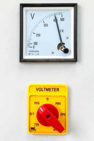selector: Volt meter with selector