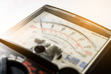 analog: Analog multimeter scale
