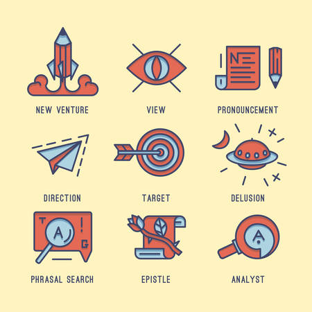 systematization: The set of media icons