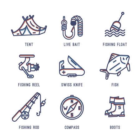 cuchillo: Iconos de pesca